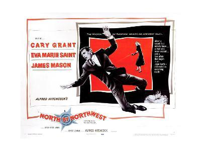 North by Northwest, from Left, Cary Grant, Eva Marie Saint, 1959--Giclee Print