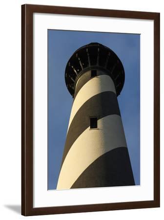 North Carolina, Cape Hatteras Seashore, Cape Hatteras Lighthouse-Walter Bibikow-Framed Photographic Print