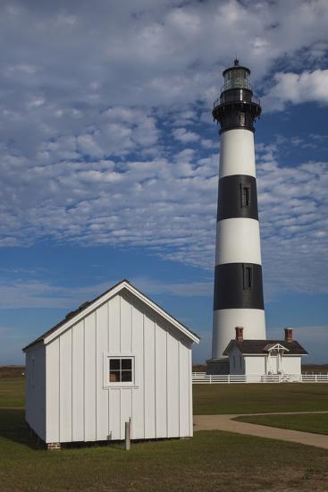 North Carolina, Outer Banks National Seashore, Bodie Island Lighthouse-Walter Bibikow-Photographic Print