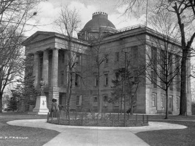 North Carolina State Capitol-E. F. Pescud-Photographic Print