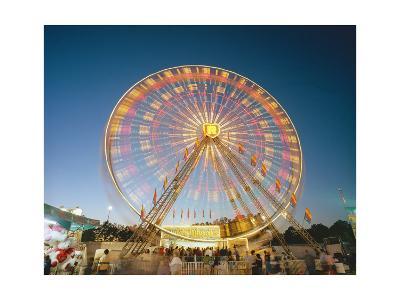 North Carolina State Fair Ferris Wheel-Henri Silberman-Photographic Print