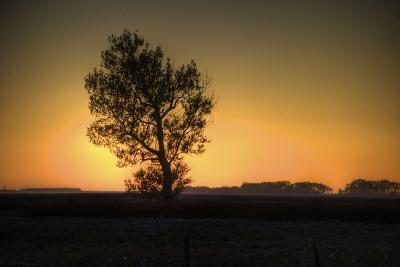 North Dakota Sunset-Angelo Bufalino Photography-Photographic Print