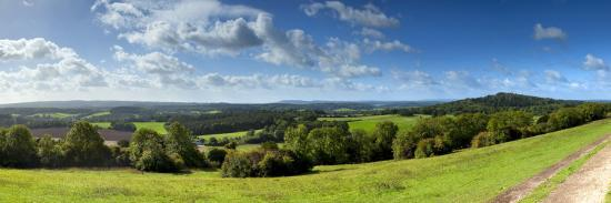 North Downs from Newlands Corner, Nr; Guildford, Surrey, England-Jon Arnold-Photographic Print