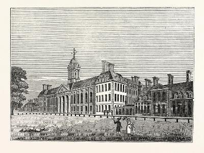 North Front of Chelsea Hospital--Giclee Print