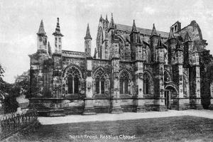 North Front, Rosslyn Chapel, Midlothian, Scotland, 20th Century