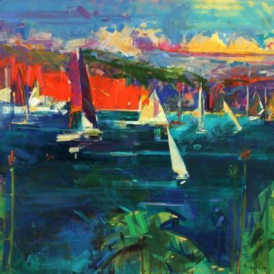 North Head, Sydney Harbour, 2012-Peter Graham-Giclee Print