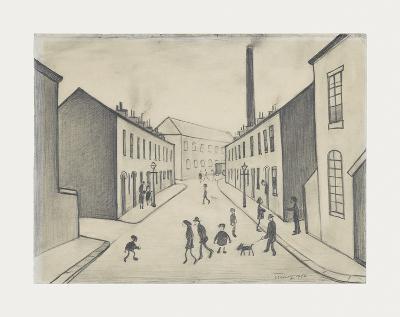 North James Henry Street, Salford, 1956-Laurence Stephen Lowry-Premium Giclee Print