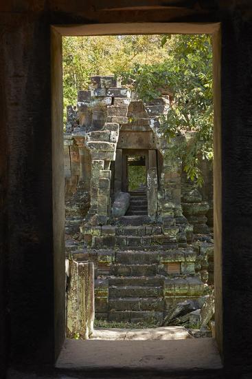 North Khleang Temple, Angkor Thom, Angkor World Heritage Site, Siem Reap, Cambodia-David Wall-Photographic Print