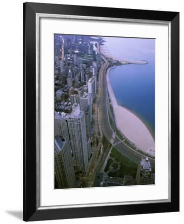 North Lake Shore Drive, Chicago, Illinois, USA--Framed Photographic Print
