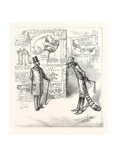 North Means Business. North to South. As Long as Defy Me a Solit Front--Giclee Print