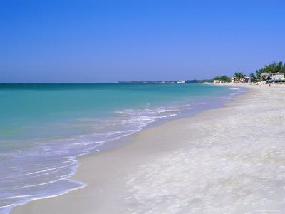 North of Longboat Key, Anna Maria Island, Gulf Coast, Florida, USA-Fraser Hall-Photographic Print