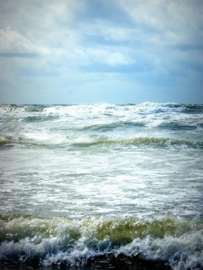 North Sea Beach Netherlands-Alaya Gadeh-Photographic Print