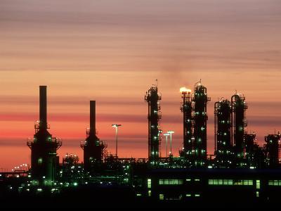North Sea Gas Terminal, Buchan, Scotland-Iain Sarjeant-Photographic Print