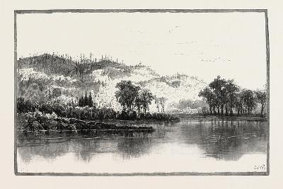 North Shore of the Ottawa, Canada, Nineteenth Century--Giclee Print