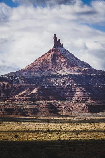 North Six Shooter Tower, Indian Creek, Utah-Louis Arevalo-Photographic Print