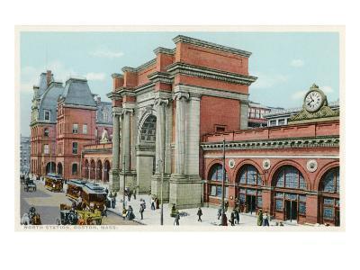 North Station, Boston, Mass.--Art Print