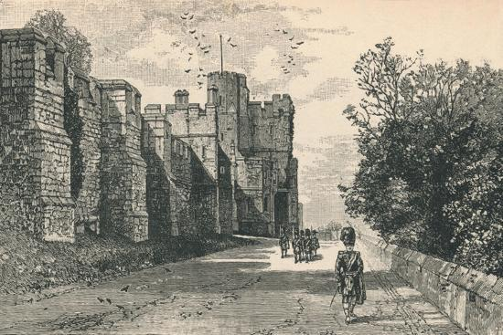 'North Terrace and Winchester Tower', 1895-Unknown-Giclee Print