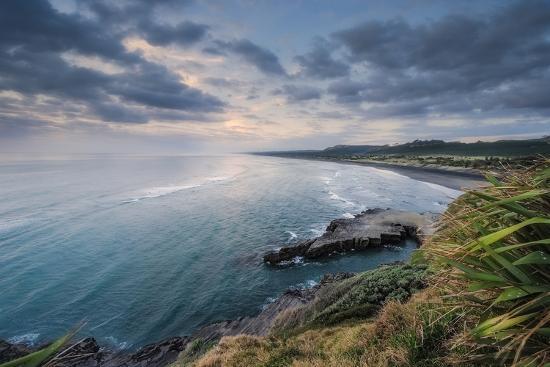North View Muriwai-Nick Twyford Photography-Photographic Print