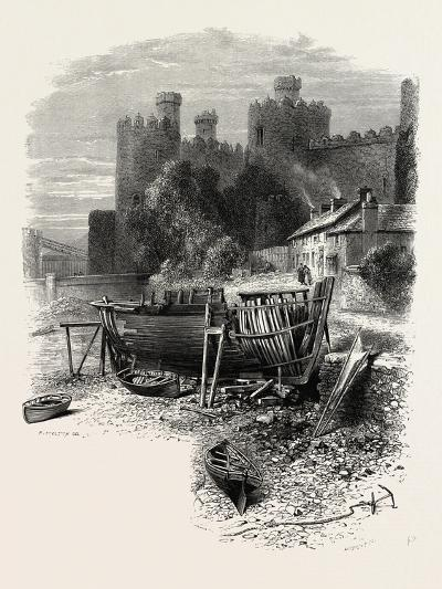 North Wales: Conway Castle, UK--Giclee Print