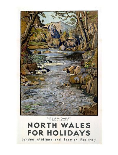 North Wales--Giclee Print