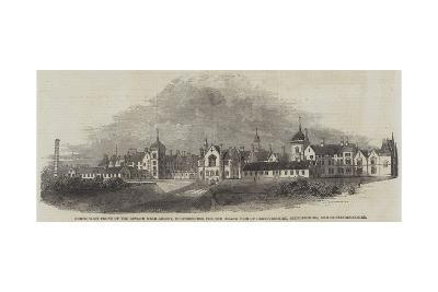 North-West Front of the Asylum Near Arlsey--Giclee Print