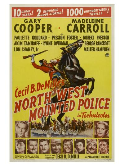 North West Mounted Police, 1940--Art Print