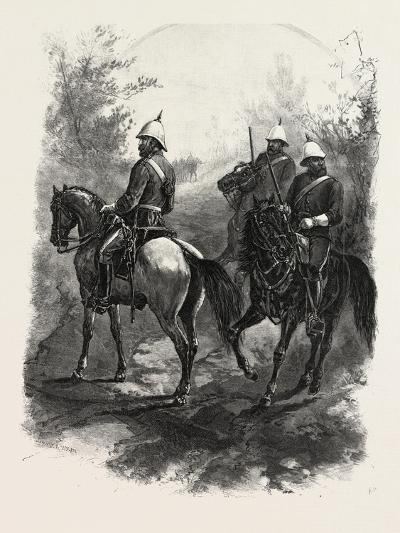 North-West Mounted Police, Canada, Nineteenth Century--Giclee Print
