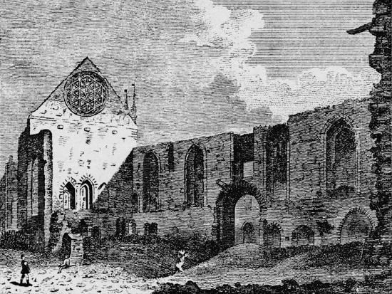 North-west view of the ruins of Winchester Palace, Southwark, London, c1900-Unknown-Giclee Print