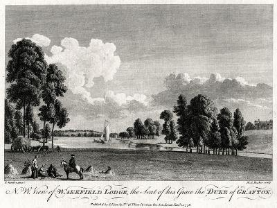 North West View of Wakefield Lodge, the Seat of His Grace the Duke of Grafton, 1776-Michael Angelo Rooker-Giclee Print