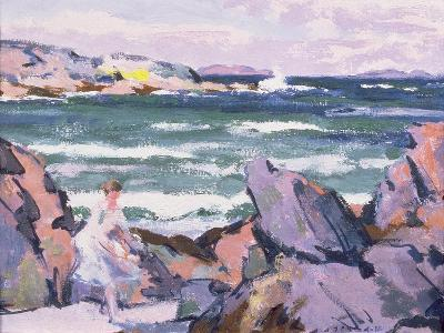 North Wind, Iona (The Bather)-Francis Campbell Boileau Cadell-Giclee Print