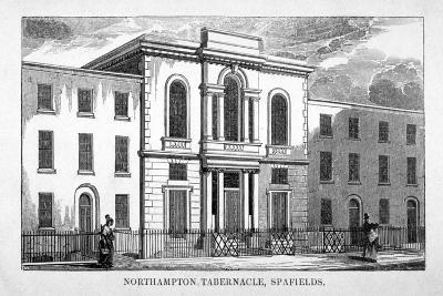 Northampton Tabernacle, Spa Fields, Finsbury, London, C1830--Giclee Print