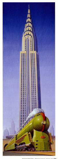 Northbound-Robert LaDuke-Art Print