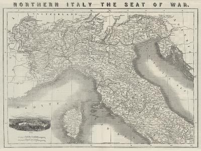 Northern Italy, the Seat of War--Giclee Print