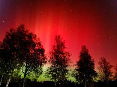 Northern Lights Glow--Photographic Print