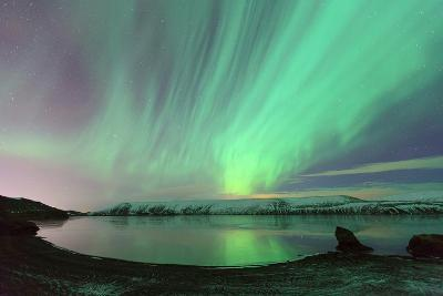 Northern Lights in Iceland-by Chakarin Wattanamongkol-Photographic Print