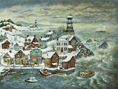 Northern Lights-Bill Bell-Giclee Print