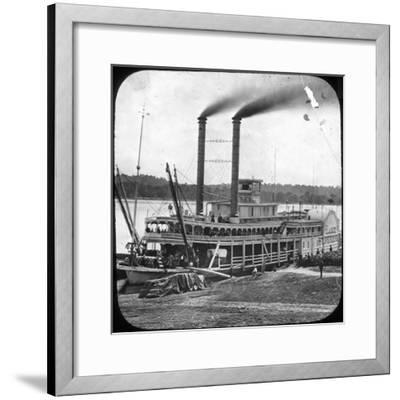Northern Line Packet Company Paddle Steamer Lake Superior, USA, C1870S