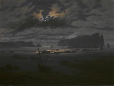 Northern Sea in the Moonlight, C. 1823-Caspar David Friedrich-Giclee Print