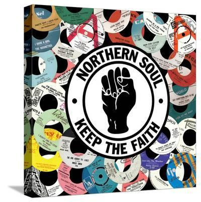 Northern Soul--Stretched Canvas Print