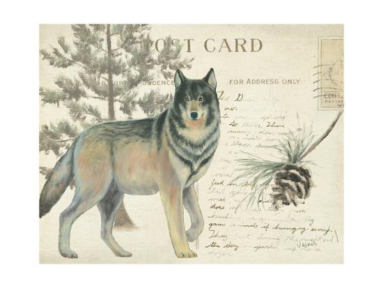 Northern Wild I-James Wiens-Art Print