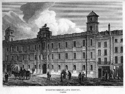 Northumberland House, Westminster, London, 1815-J Shury-Giclee Print