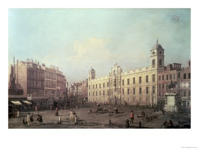 Northumberland House-Canaletto-Giclee Print