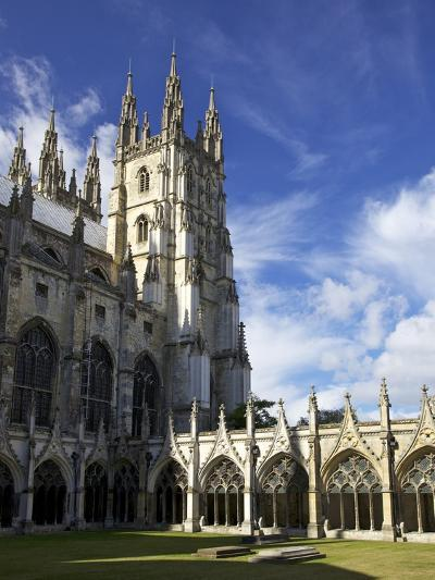 Northwest Tower of Canterbury Cathedral, UNESCO World Heritage Site, Canterbury, England-Peter Barritt-Photographic Print