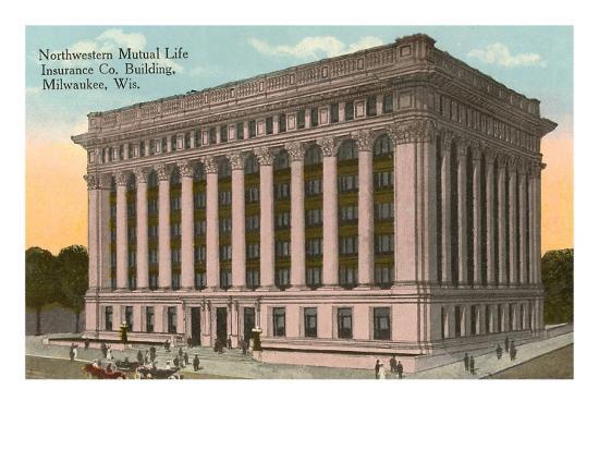 Northwestern Mutual Life Building, Milwaukee, Wisconsin--Art Print