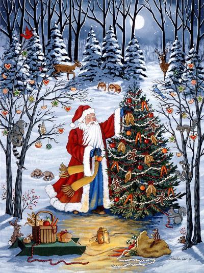 Northwoods Christmas-Sheila Lee-Giclee Print