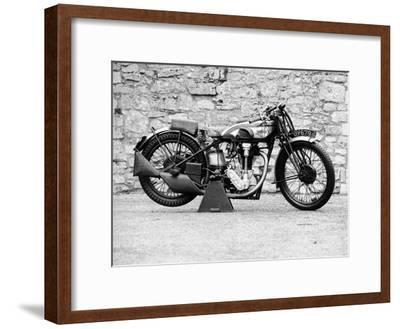 Norton Motorbike, an International Model 30, 1932