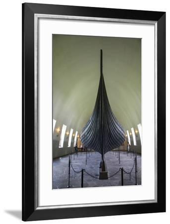 Norway, Oslo. the Gokstad Viking Ship-Cindy Miller Hopkins-Framed Photographic Print