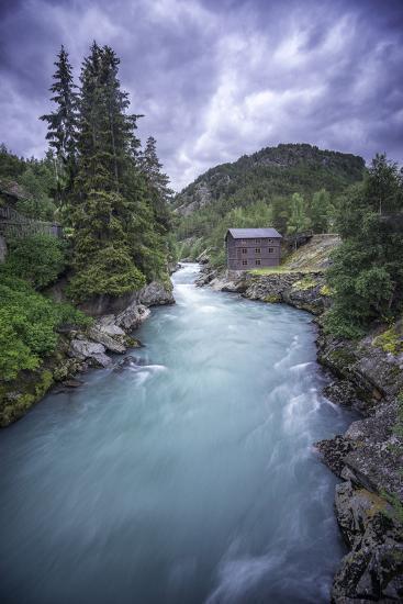 Norway River-Philippe Manguin-Photographic Print