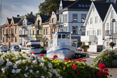 Norway, Rogaland, Farsund, Harbour-Rainer Mirau-Photographic Print