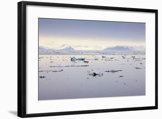 Norway, Spitsbergen, Drift Ice-Frank Lukasseck-Framed Photographic Print